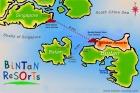 ビンタン地図