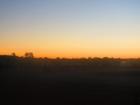 素晴らしい夕焼け