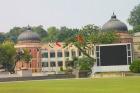 昔はクリケットで使っていた独立広場
