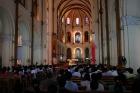19世紀末に建てられたレンガ造りのサイゴン大教会内部