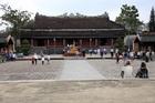 ベトナム最後の王朝がおかれた、グエン朝王宮