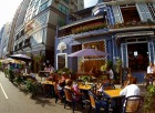 お洒落なレストランやバーが並ぶスタンレー地区