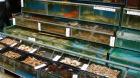 ラマ島の新鮮な魚介類