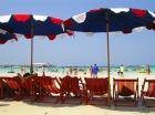 ラーン島のビーチ