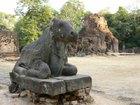 プレア・コーの聖なる牛象