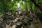 東のアンコールと呼ばれる遺跡はまるでラピュタの世界