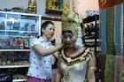 カンボジアの伝統衣装