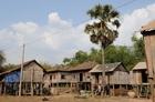 農村を見学