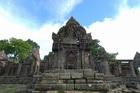 タイとカンボジアの国境山頂部にある「プレアヴィヒア」