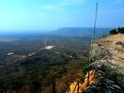 プレアヴィヒアを抜けた先にある断崖絶壁からの絶景