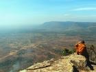 高さ650mから見下ろすカンボジアの大平原パノラマ