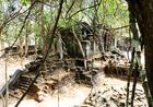 ベンメリアは世界遺産であるアンコール遺跡群のひとつ