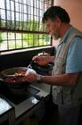そしてキッチンにて料理!