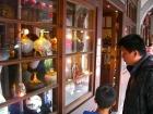 三峡の老街には色んなお店が