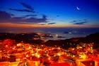 九ふんから望む基隆の夜景