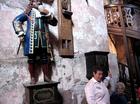 ハイデルベルクの大樽を見張るペルケオの像