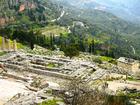 デルフィ アポロン神殿