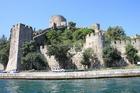 ボスポラス海峡クルーズから見た城砦ルメリ・ヒサール