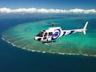 ヘリコプターからグレートバリアリーフを満喫!