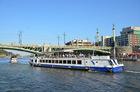 ヴルタヴァ川クルーズで利用するクルーズ船一例