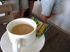 出航前のコーヒー紅茶のサービス