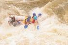 タリー川の急流に呑みこまれる!