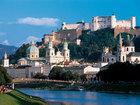 ザルツブルクの街とホーエンザルツブルグ城