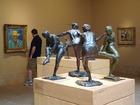 ドガの塑像とゴッホの肖像画