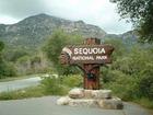 セコイア国立公園のサイン