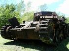 パラオに残る第二次世界大戦で使われた戦車