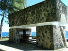 ペリリュー平和記念公園の戦没者碑