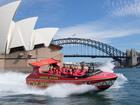 シドニー湾スピードボート