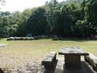 広々としたキャンプサイト