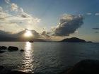ぜひ宿泊して大陸に沈む夕日を眺めて