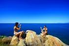 高台から見る海の景色もまた別格!