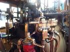 昔ながらの蒸気エンジン