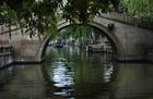 周荘の1570年代に造られたアーチ型の橋