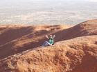 エアーズロック登山は苦労して登ったぶん感動もひとしお