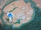 ンゴロンゴロのクレーターの模型