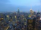 トップオブザロックから見渡すニューヨークの大パノラマ