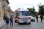 Martin Tour Pragueの可愛らしいツアー車