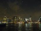 イースト川を渡ったブルックリンの川辺から