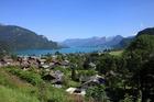 ヴォルフガング湖を眺める