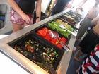 種類豊富な新鮮な野菜類、選び放題です