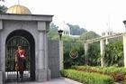 マレーシア王宮(イスタナ・ネガラ)を守る兵隊