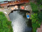 バンジージャンプ台からの眺め