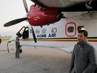 小型飛行機でヒマラヤへ
