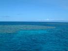 真っ青な海!