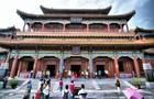 チベット仏教寺院・雍和宮の天王殿