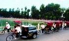 三輪車で北京の横丁・胡同巡り